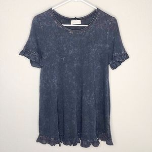 Altar'd State Ruffle Top Size M